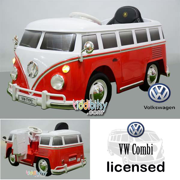 VW Combi Lisensi Mainan Mobil Aki