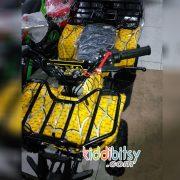 Motor Mini 50cc ATV-spiderman-kuning