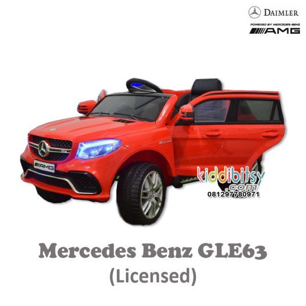 Mercedes Benz GLE 63 Junior Licensed