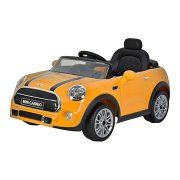 Mini cooper cabrio yellow