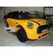 Mini cooper cabrio yellow-2