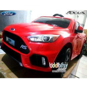 Ford Focus RS Lisensi Mainan Mobil Aki