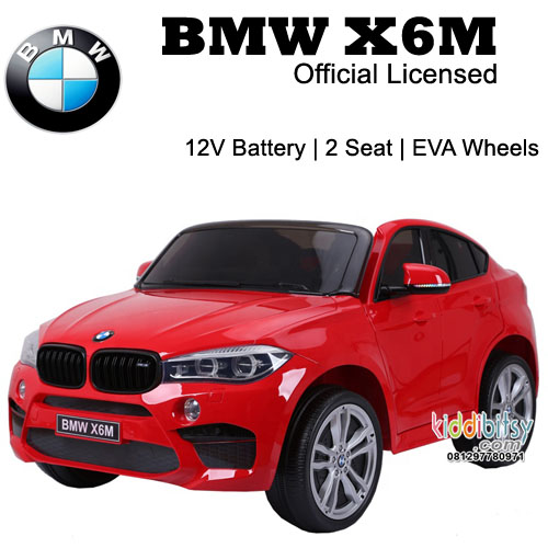 BMW X6M Licensed XXL Ban Full Karet