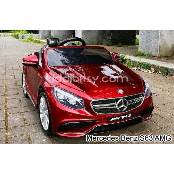 Mercedes Benz S63 RED AMG