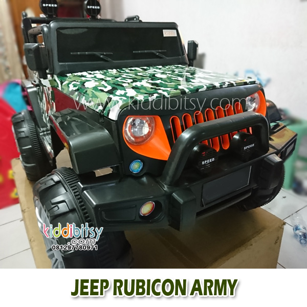 Jeep Wrangler Rubicon ARMY
