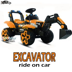 EXCAVATOR Ride On Car