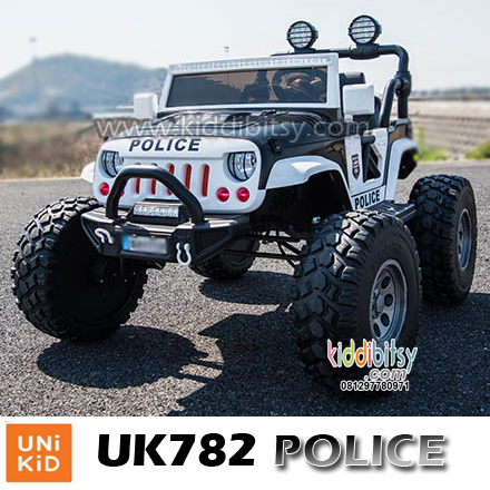 Jeep UK782 POLICE