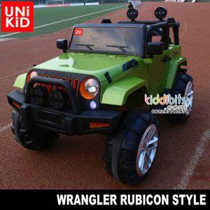 Jeep Wrangler RUBICON non lisensi Mainan Mobil Aki