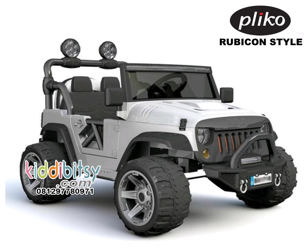 Jual Jeep Rubicon Style Ban Karet Pliko Mainan Mobil Aki