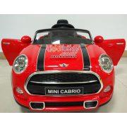Mini Cooper Cabrio Licensed mainan Mobil aki anak