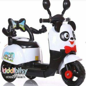 Scooter Anak PANDA Motor Aki Mainan