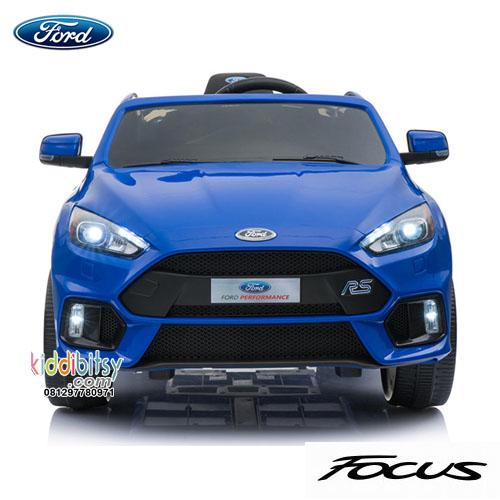 Blue Ford Focus >> Jual Ford Focus Rs Lisensi Mainan Mobil Aki Kiddibitsy Com