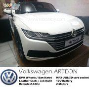 VW-Arteon-Lisensi-mainan-mobil-aki-putih-1