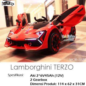 Lamborghini TERZO Mainan Mobil Aki