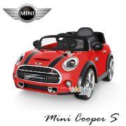 Mini Cooper Lisensi-merah