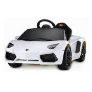 lamborghini Aventador-white-mainan-mobil-aki